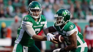Roughriders look for win in third-straight meeting with Stampeders