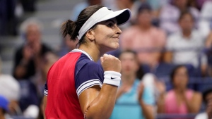 Andreescu moves on after hard fought match with Riske