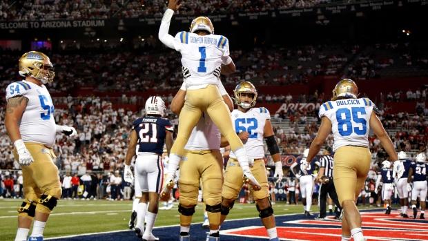 Brown runs for 146 yards in UCLA's win over Arizona