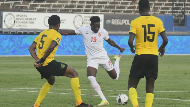 Canada gets point, plays Jamaica to draw in World Cup qualifier