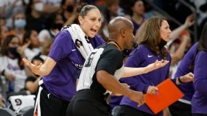 Taurasi won't cite fatigue after Mercury lose Game 1 of WNBA Finals