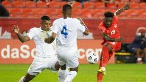 Davies scores spectacular goal as Canada downs Panama in World Cup qualifier