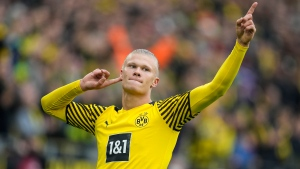 Haaland returns, scores two for Dortmund to go top in Germany