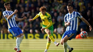 Norwich still waiting for first win after home draw with Brighton