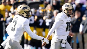 O'Connell, Bell lead Purdue to upset over No. 2 Iowa