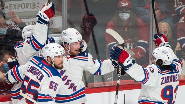 Quebec's Lafreniere scores winner as Rangers defeat Habs