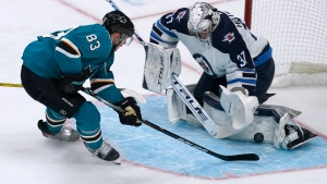 Youth movement powers Sharks past Jets in opener