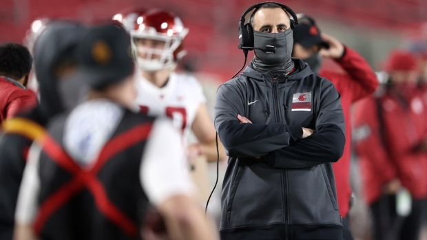 Rolovich out as Washington State football coach after refusing state-mandated COVID-19 vaccine, source says