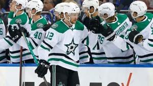Stars' Faksa fined $5K for slash on Stützle