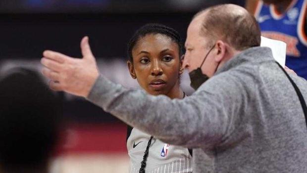 NBA hires Danielle Scott, league's 6th female full-time ref