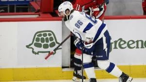 Lightning F Kucherov out 8-10 weeks after surgery