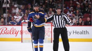 Blues' Buchnevich suspended two games for head-butting