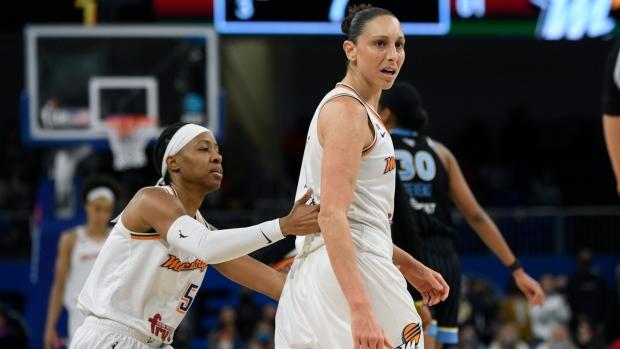 Taurasi: 'magic slipped away' from Mercury in WNBA Finals loss