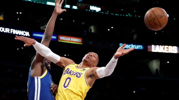 James, Davis reassure Westbrook after opening game struggles