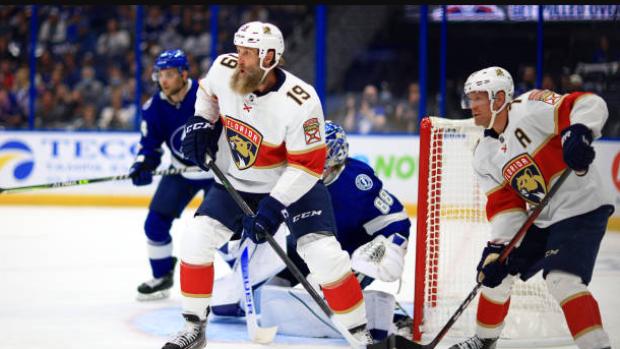 Panthers' Thornton gets max fine for slash on Katchouk