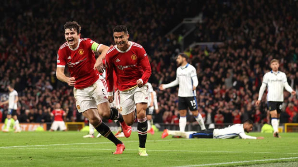 Ronaldo, United stun Atalanta with late comeback