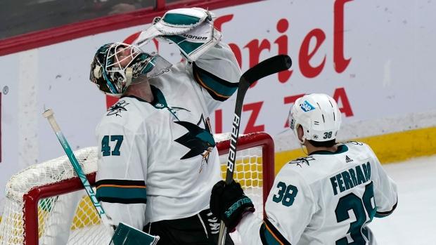 Sharks spoil Tkachuk's season debut with win over Ottawa