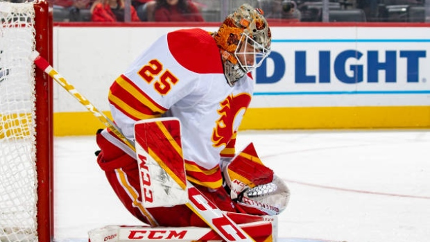 Markstrom shuts out Red Wings in Flames win