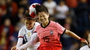 USWNT tie South Korea, snap 22-match home win streak