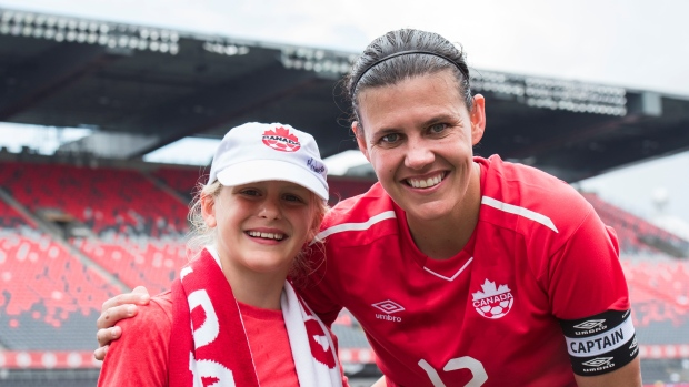 Canadian women's team's golden touch inspires new generation of soccer stars