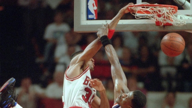 Giant-sized basketball photo book 'POSTERIZED' showcases iconic NBA poster dunks