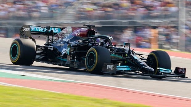 Hamilton-Verstappen F1 duel hits the track in Texas