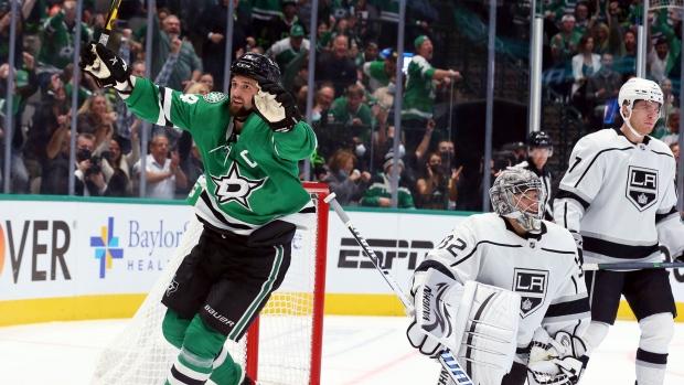 Gurianov's OT goal pushes Stars past Kings