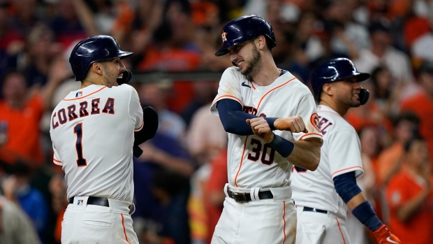 Astros headed to third World Series in five years