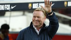 Barcelona fires Koeman after latest loss