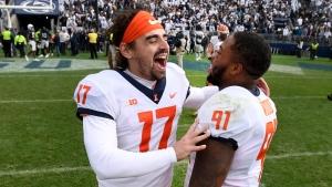 Illinois stuns No. 7 Penn State in NCAA's 1st 9OT game
