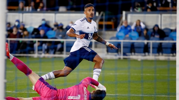 Gaspar, Whitecaps earn draw with Earthquakes