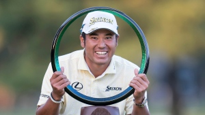 Masters champ Matsuyama wins by five in Japan
