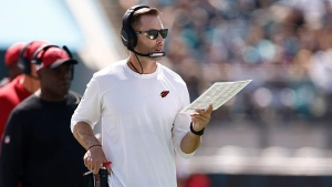 Cardinals' Kingsbury cleared to return vs. Texans