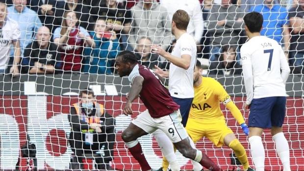 Antonio leads West Ham to victory over Tottenham