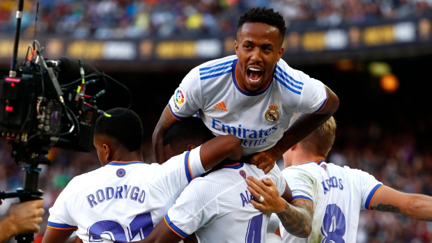 David Alaba Real Madrid Barcelona clásico