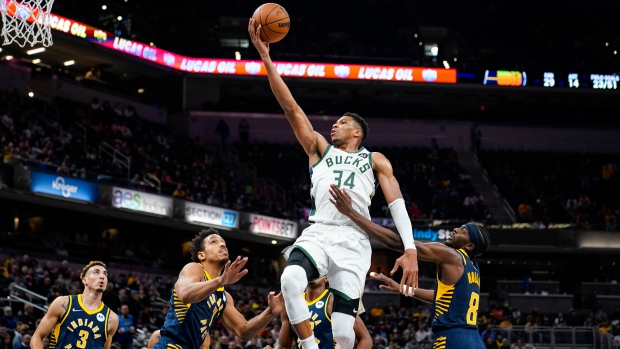 Short-handed Bucks still on point in win against Pacers