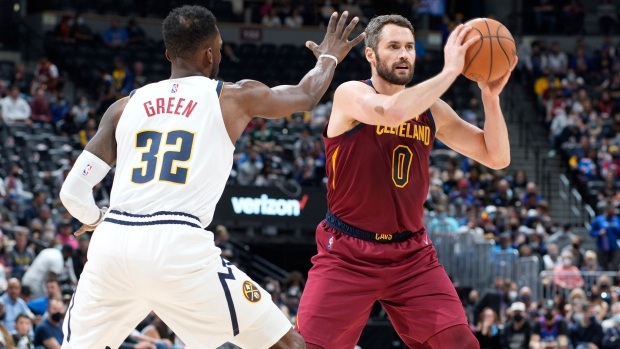 Love, Allen guide Cavaliers to win over Nuggets