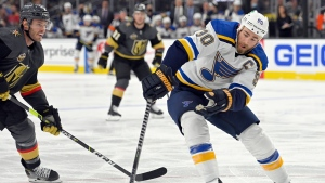 Blues place O'Reilly, Saad in COVID Protocol
