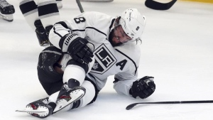 Doughty out 8 weeks with bruised right knee