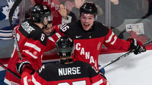 WJC: Domi Scores Two; Canada Tops U.S. To Take First Place In Group A