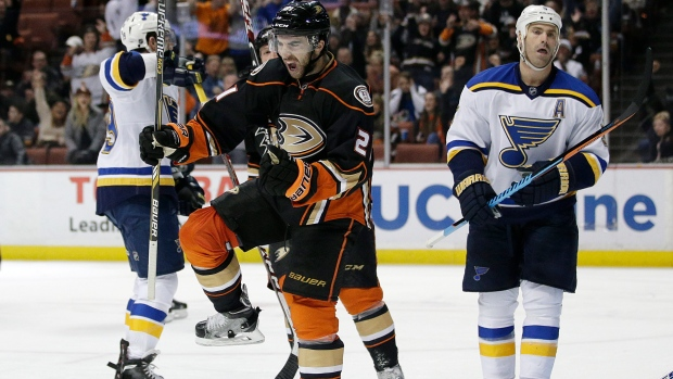 Ducks trade Palmieri to Devils for picks - TSN ca
