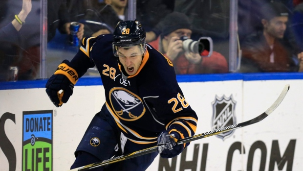 Sabres sign Girgensons to two-year deal