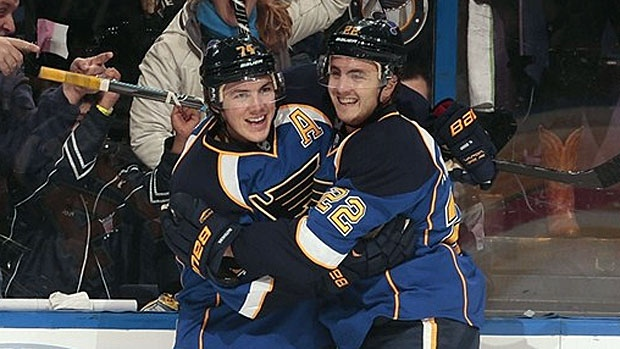 Oshie and Shattenkirk celebrate