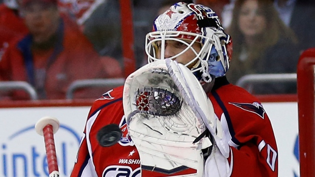 cadc5761aca Caps re-sign Holtby to five-year extension. The Canadian Press. Braden  Holtby