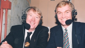 Award-winning play-by-play announcer Hughson retires