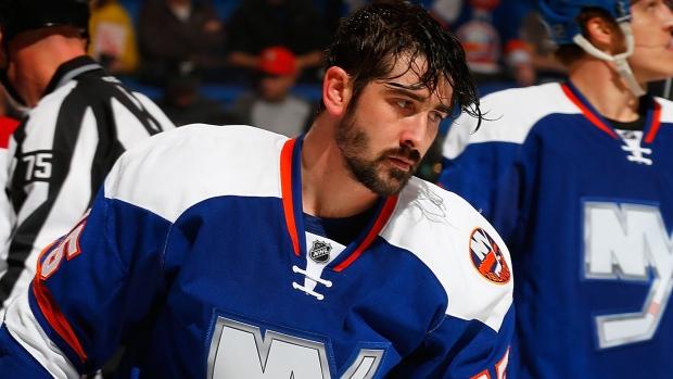 Cal Clutterbuck New York Islanders Player Swingman Jersey