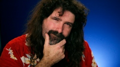 Pro wrestler Mick Foley booted for cheating at Wing Bowl by hiding uneaten wings in fanny pack Article Image 0