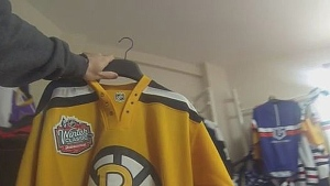 Faking It - Bergeron Jersey