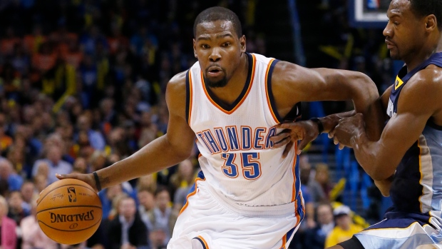 c212e9997d2 Durant has procedure on right foot. The Canadian Press. Kevin Durant