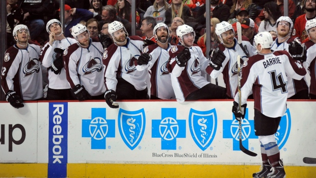 Barrie, Avalanche celebrate